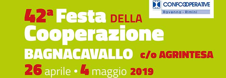 Il 26 aprile comincia la 42esima edizione della Festa della Cooperazione di Bagnacavallo
