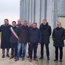 Cesac, a Medicina sei nuovi silos per cereali pregiati